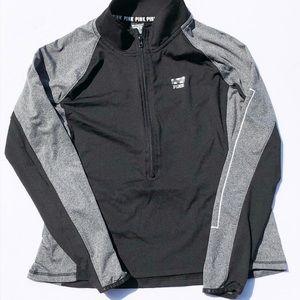 PINK Grey & Black Track Jacket, Activewear!